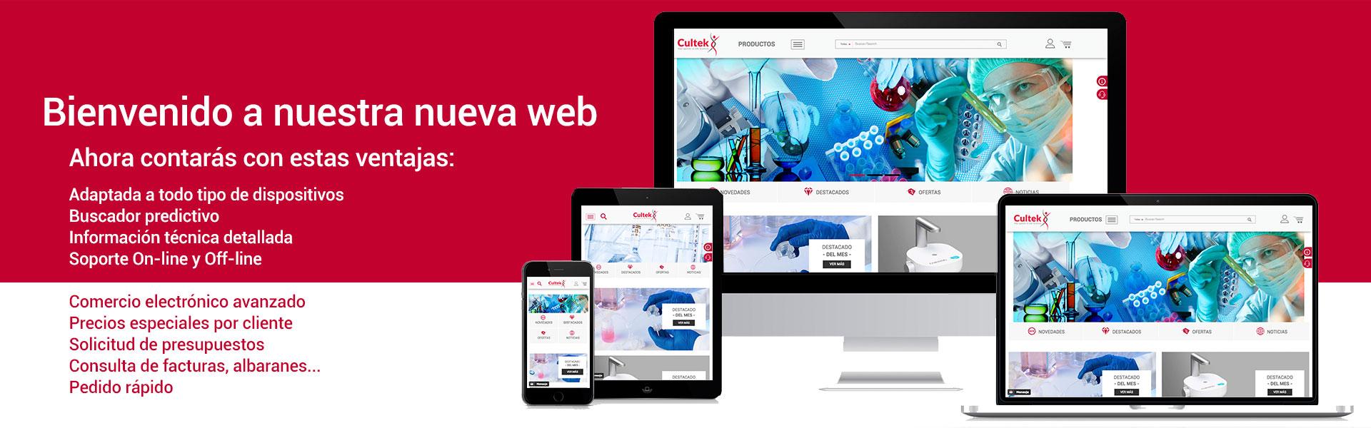 Cultek nueva web