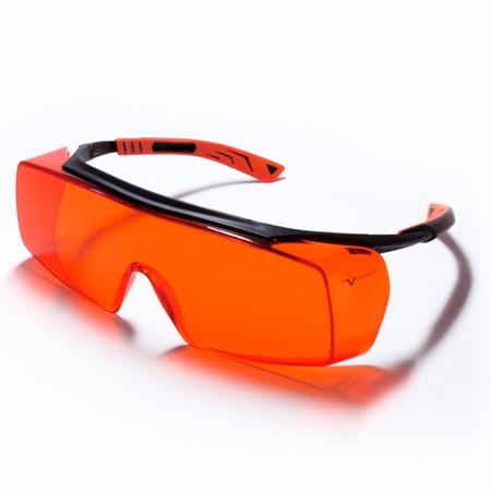 Gafas de protección ámbar para trabajar con sistemas de fotodocumentación de geles LED