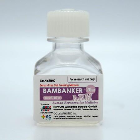 Bambanker HRM medio de criopreservación para células ES e iPS, 1 botella de 20ml