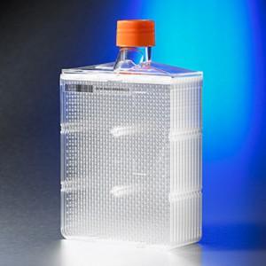 HYPERflaskM para cultivo con superficie CellBIND de 1720 cm², estéril, con código barras, 4 Uds.