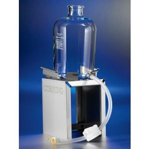 Juego de tubos desechables para botella de cristal, 3_8 ID x 1_2 OD, Longitud 18, estéril