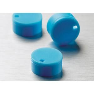 Cubretapones para crioviales, polipropileno, azul, 500 Uds.
