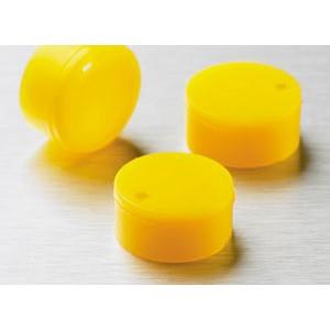 Cubretapones para crioviales, Crioviales, polipropileno,amarillo, 500 Uds.