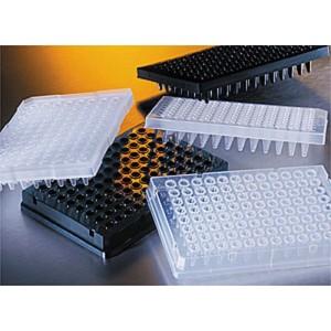 Thermowell GOLD, Placas 96 pocillos PCR, Faldón completo, transparente, polipropileno, no estéril, 50 Uds.