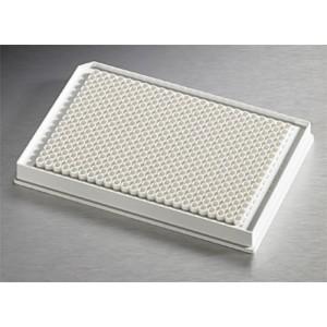Microplaca 384 pocillos blanca de poliestireno NBS, volumen bajo, fondo plano, sin tapa, no estéril, 50 Uds.
