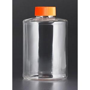 Botellas Roller, 490cm² área crecimiento, superficie para TC, tapón de sellado, sin graduación, 40 Uds.
