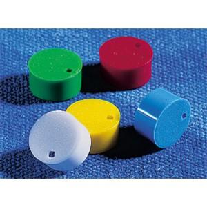 Cubretapones para crioviales de colores variados de polipropileno para insertos, 500 uds.