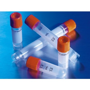 Crioviales 4ml, tratamiento externo, polipropileno, fondo redondo, Self-Standing, 500 uds.