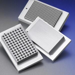 LSE Bloque doble para microplacas PCR, 384pocillos, 1 unidad
