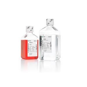 HBSS, 1X, Hank's Balanced Salt Solution, sin calcio, ni magnesio, con phenol red, 6 botellas de 500ml
