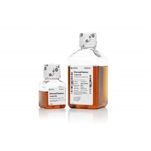 Suero fetal bovino, origen US, tratado con carbón (charcoal), y dextrano, 1 botella de 100ml