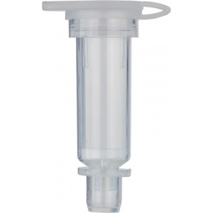 Columnas de recepción con filtros de 35 µm para centrifugación y vacío, formato mini, 10 Uds.