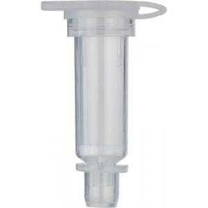 Columnas de recepción con filtros de 35 µm para centrifugación y vacío, formato mini, 250 Uds.