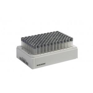 Tubos 1.40ml, codificados 2D, en V, tapon, rosca, externa, en Micronic 96-4, high cover, 2 bolsas de 10 racks