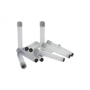 Tubos de 3.50ml, codificados 2D, planos, Tapones rosca, externa, en Micronic 24-2, high cover, 4 bolsas de 10 racks