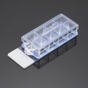 Portaobjeto para cultivo Corning Biocoat de 8 cámaras, recubierto de Poli-D-lisina y laminina, 3 paquetes de 4 Uds.