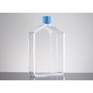 Frasco de cultivo PureCoat, recubierto de amina, 175cm2, rectangular, cuello inclinado,tapón ventilado, 5 uds.