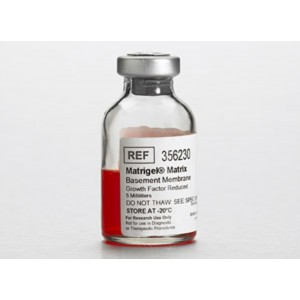 Matriz extracelular de Matrigel, membrana basalreducida Factor de crecimiento GFR,sin phenol red, 1 vial 5 ml
