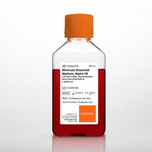 Medio MEM (Minimum Essential Medium) Alpha con Earle's salts, ribo y deoxiribonucleosidos, L-glutamina, 6 x 500 ml