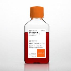 Medio McCoy's 5A (Modificación Iwakata _ Grace) con L-glutamina, 6 x 500 ml