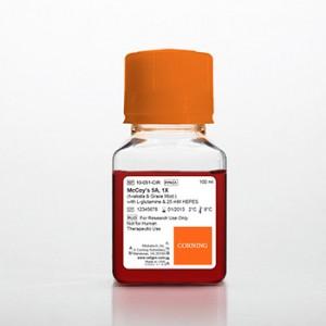 Medio McCoy's 5A (Modificación Iwakata _ Grace) con L-glutamina y 25 mM HEPES, 6 x 100 ml