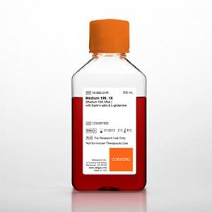 Medio de cultivo 199 (Mod.) con sales Earle's y L-glutamine, 6 x 500 ml