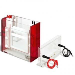 Cubeta de electroforesis Eco-Maxi Eb, sin Soporte de Casting, 1.0 mm, Tamaño del Gel 19.4  cm x 18.5  cm, 2 Geles