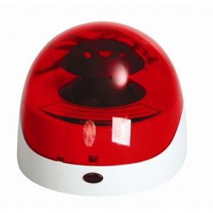 Minicentrífuga de tapa roja 175 x 148 x 118 mm, 1 equipo