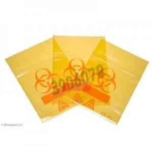 Bolsas Biohazard ClearLine® amarillas para muestras