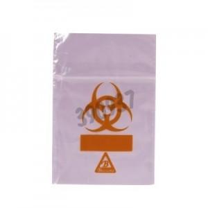 Bolsas Biohazard ClearLine® rosas para muestras