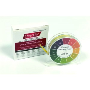 Papel pH ClearLine® - en rollo - papel pH 1 - 14 (dispensador incluido)