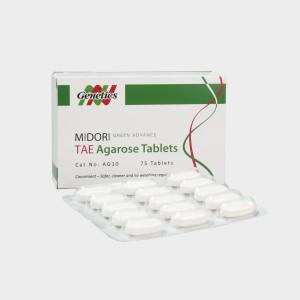 Tableta Agarosa  Midori con TAE
