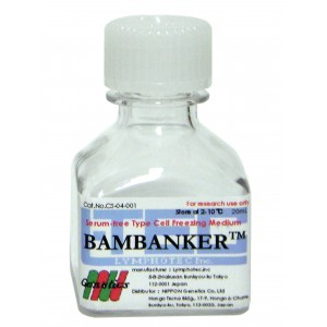 Medio de congelación, Bambanker, 1 botella de 20ml
