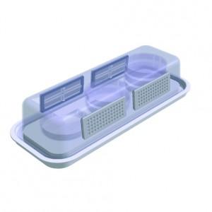 Cámara de cultivo celular autoclavable confiltros, FastGene, 1 unidad