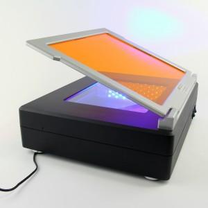 Transiluminador FastGene de luz azul LED, 280 x 340 x 80 mm, 1 equipo