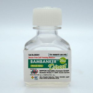 Medio de congelación, Bambanker Direct, 1 botella de 20ml