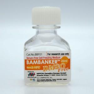 Medio de congelación, Bambanker libre de DMSO, 1 botella de 20ml