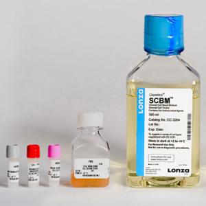 SFM - Medio especial células estromales de próstata SCGM BulletKit, contiene medio basal y suplementos, 1 kit