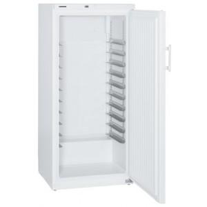 Congelador industrial estático vertical de 491-485 litros, color blanco (-9ºC_-26ºC), 200 W