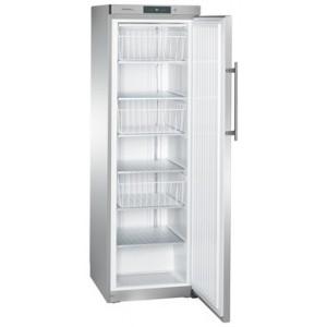 Congelador industrial estático vertical, 382-348 litros, acero inoxidable con cerradura (-14ºC_-28ºC)