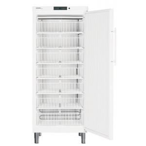 Congelador industrial estático vertical, 513-472 litros, color blanco con cerradura (-14ºC_-28ºC)