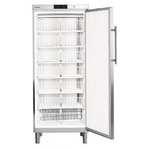 Congelador industrial estático vertical, 513-472 litros, acero inoxidable con cerradura (-14ºC_-28ºC)