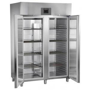 Congelador ventilado vertical de uso profesional (-16ºC_-26ºC), 1427 litros de acero inoxidable con gas R-290