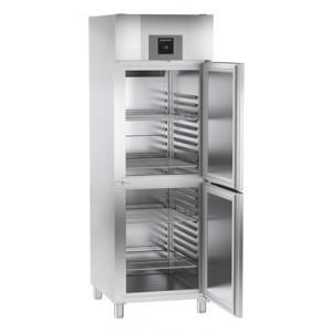 Congelador ventilado vertical de uso profesional (-16ºC_-26ºC), 596-464 litros de acero inoxidable con gas R-290