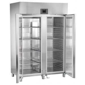 Armario frigorífico ventilado profesional 1427 litros de acero inoxidable con gas  R-290, 350 W