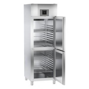 Armario frigorífico ventilado profesional 596-464 litros, de acero inoxidable con gas R-290, 308 W