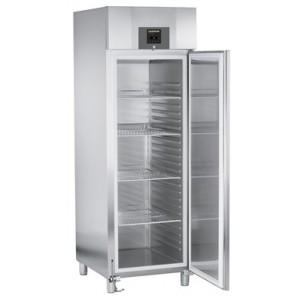 Armario frigorífico ventilado profesional 601 litros, de acero inoxidable con gas R-290, 250 W