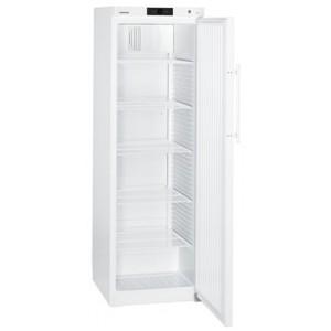 Armario frigorífico ventilado industrial, 434 litros de color blanco con cerradura (+1ºC_+15ºC), 100 W