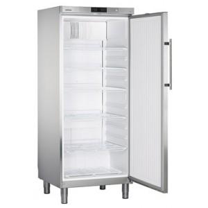 Armario frigorífico ventilado industrial, 583 litros de acero inoxidable con cerradura (+1ºC_+15ºC), 150 W