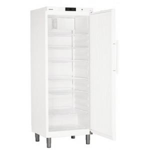 Armario frigorífico ventilado industrial, 663 litros de color blanco con cerradura (+1ºC_+15ºC), 150 W